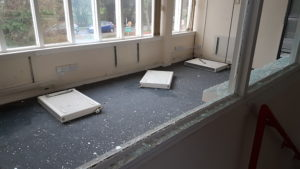 Travellers have caused significant damage to the building